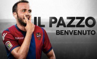 Hellas Verona i Llevant UD pacten la cessió de Giampaolo Pazzini