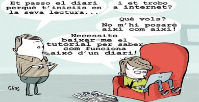 Manual per a llegir premsa escrita