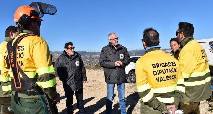 La Diputació agilita el procés perquè els municipis sol·liciten els serveis de les brigades forestals