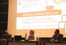 La Generalitat amplia el pressupost, millora les condicions i agilita els tràmits del Pla Renhata 2018