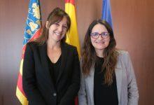 Oltra destaca l'interès del Govern de Castella-la Manxa en les polítiques socials del Consell i en la Renda Valenciana d'Inclusió