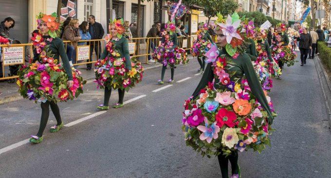 L'homenatge als pobles de l'Horta de la falla Sant Valerià li val el primer premi de la Cavalcada del Ninot infantil