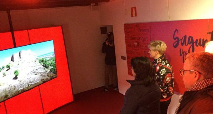 L'eix turístic de Sagunt comença a bategar en el nou Centre de Recepció de Visitants obert en la Casa dels Berenguer