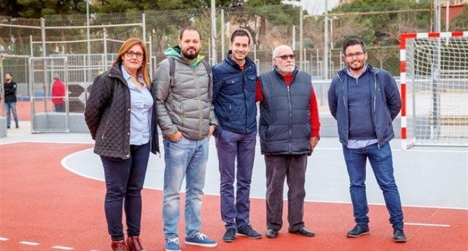 La Canaleta obri hui les pistes poliesportives després d'invertir-se més de 300.000€ en el seu condicionament