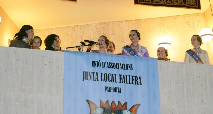 La Crida dóna el tret d'eixida a les Falles de Paiporta 2018