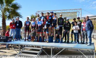 L'equip masculí Avant Moncada i el femení CEA Bétera guanyen en el III Duatló per Equips de Massamagrell