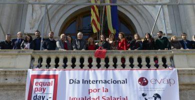 Valencia se suma a la lucha por la igualdad salarial