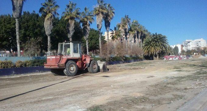Limpieza de mil toneladas de vertidos incontrolados en Malilla y la Font de Sant Lluís