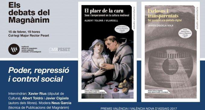 El poder, la repressió i el control social, objecte dels Premis València d'Assaig 2017