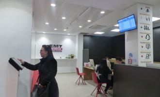 Así es la nueva Oficina de Atención al Cliente de la EMT más accesible