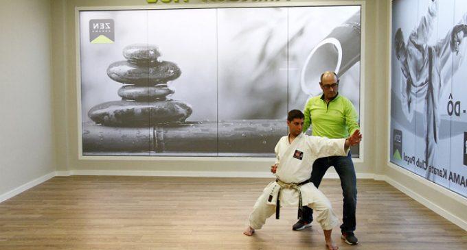 Carlos Huertas, campió autonòmic de parakarate, representa a València en el Campionat d'Espanya