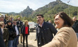 La Diputació ayuda a Vallada a abrir su albergue después de 5 años cerrado por falta de recursos