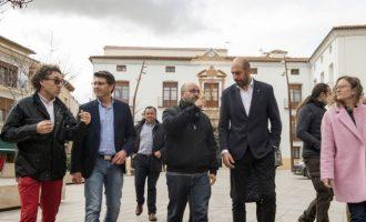 Utiel rehabilita la Puerta del Sol para convertirla en punto de encuentro vecinal con ayuda de la Diputació