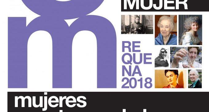 """""""Dones construint la història"""", lema per a commemorar a Requena el dia de la dona 2018"""