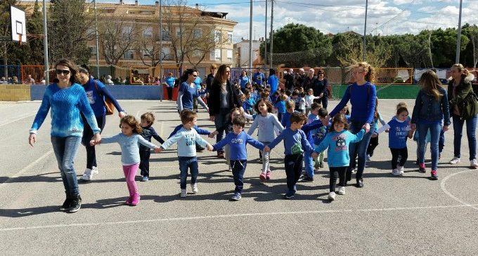 El CEIP El Patí avança la celebració del Dia Mundial de l'Autisme