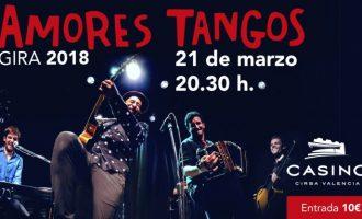 Concert d'Amores Tangos, en Casino Cirsa València