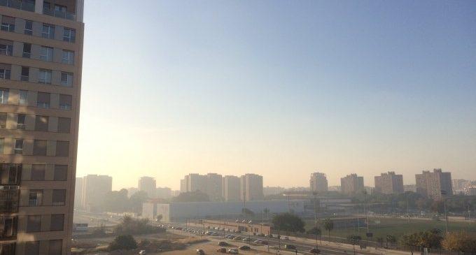La contaminació de l'aire a València va augmentar en 2017