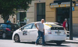 València es va quedar sense taxis el dia de la Plantà de Falles
