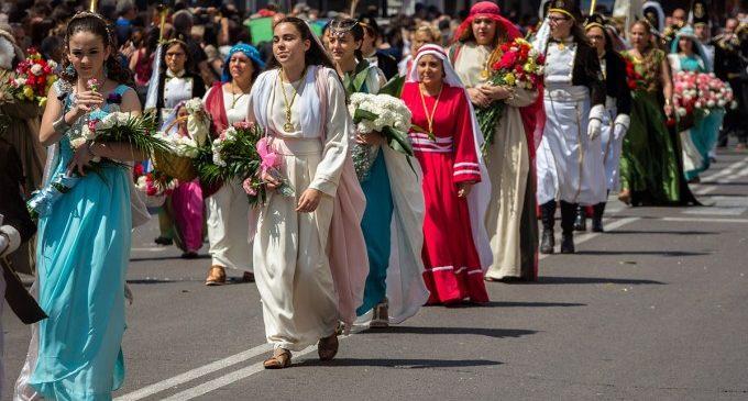 La Desfilada de Resurrecció de València, única a Espanya
