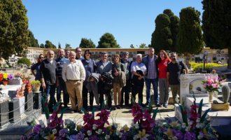 La Diputació se suma als actes pel dia de les víctimes del franquisme en el cementeri de Paterna