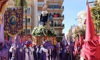 En directo el Encuentro Doloroso de la Virgen con Jesús Nazareno de Torrent