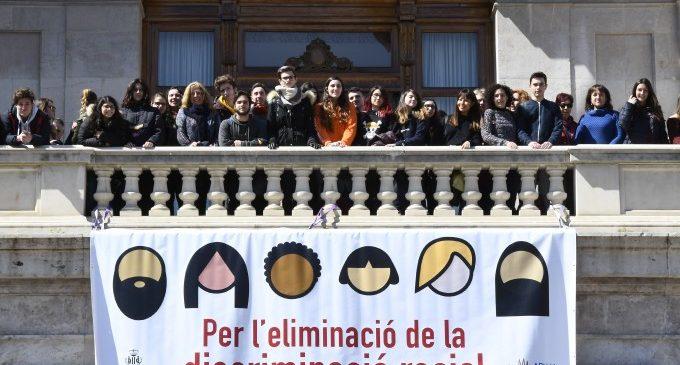 València s'uneix al Dia de l'Eliminació de la Discriminació Racial