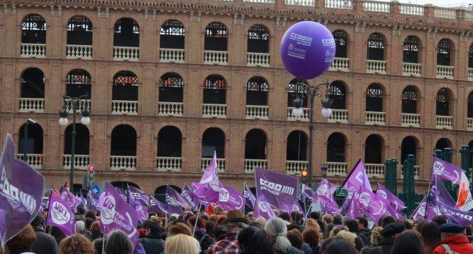 8M: La crònica de la vaga feminista a València