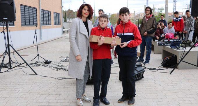 Dos estudiants de 6º de Primària guanyen el Concurs de Rap en Igualtat de l'Ajuntament de Quart de Poblet
