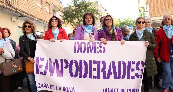 "La ""III Marxa Dones Empoderades"" recorre #QuartdePoblet"