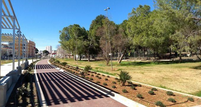 El Parque Lineal de Benimàmet se abrirá el lunes