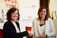 València Activa firma un conveni amb una cadena de supermercats