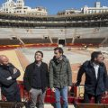 Jorge Rodríguez celebra que Rafa Nadal forme part de l'equip espanyol de la Copa Davis a València