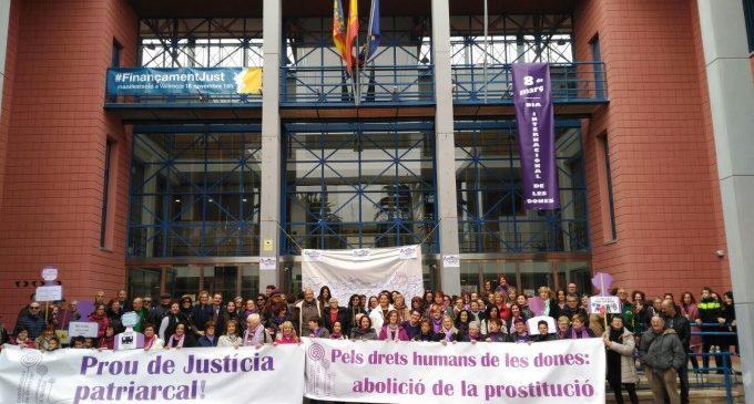 Actes i protestes en el Dia Internacional de la Dona a Xirivella