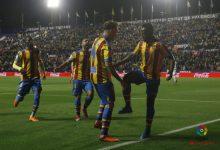 El Levante gana al Eibar (2-1)