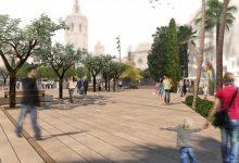 Las obras de remodelación de la plaza de la Reina podrían comenzar durante los meses de verano