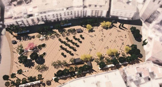 La peatonalització de la plaça de la Reina de València arrancarà la pròxima setmana