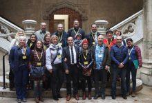 La Diputació es reuneix amb els socis europeus d'un projecte de formació en empreses de 7 països