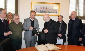 Una delegación del municipio francés de Vannes visita Llíria