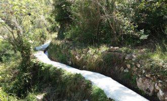 Millares rehabilita su red de acequias de riego