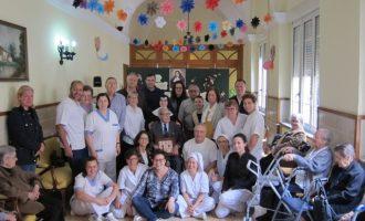 El veí de Llíria Vicente García Dasí celebra els seus 100 anys
