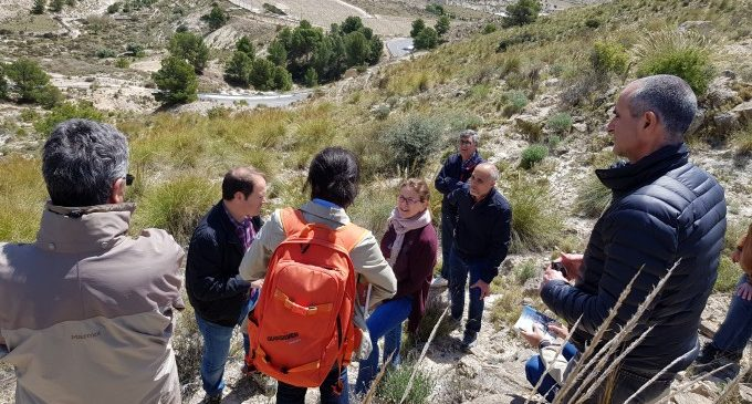 El Consell protegirà com a monument natural el jaciment Capa Negra d'Agost, testimoni del meteorit que va extingir els dinosaures