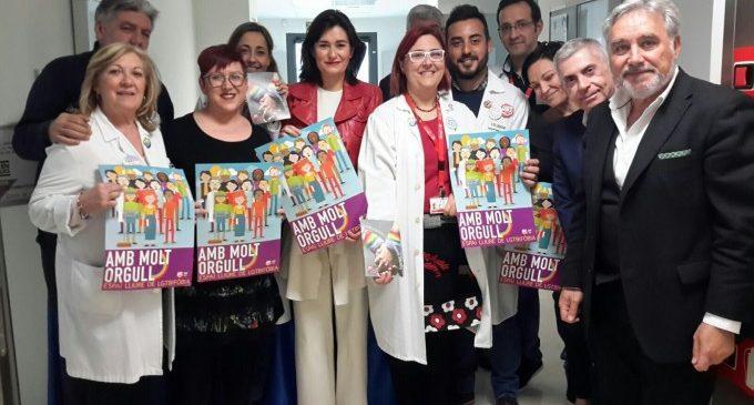 Montón destaca la defensa dels drets sanitaris de les persones LGTBI