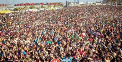Dispositiu de seguretat per al Festival de Paelles Universitàries a Montcada