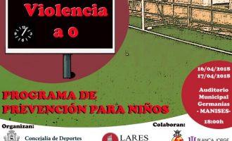 Les Escoles de Futbol Base de Manises rebran xarrades contra la violència en el futbol