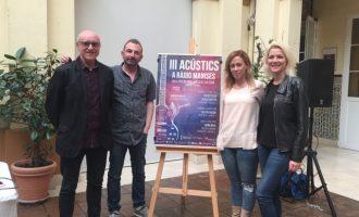 """Llega la III edición """"Acústics a Ràdio Manises"""""""