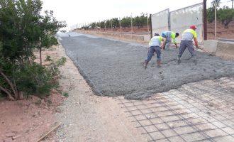 Las obras de acondicionamiento renuevan el Camí del Tir