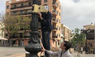 """Farolas con mensaje en la nueva campaña de civismo y concienciación de Burjassot, """"Queremos mejorar, ayúdanos"""""""