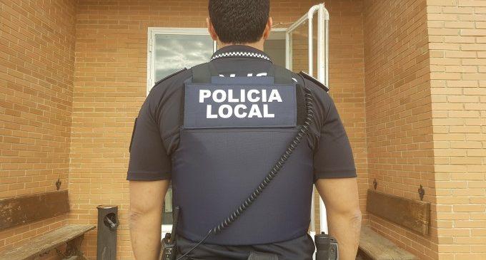 Detingut mentre intentava robar en un col·legi de Chiva