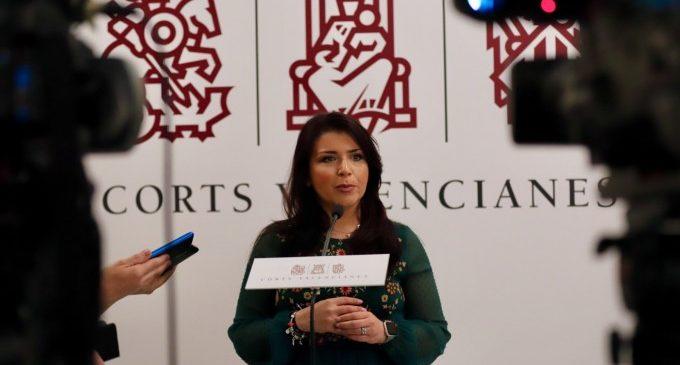 """Mari Carmen Sánchez: """"No son casos aislados, la corrupción estaba instalada en la cúpula del PP valenciano"""""""