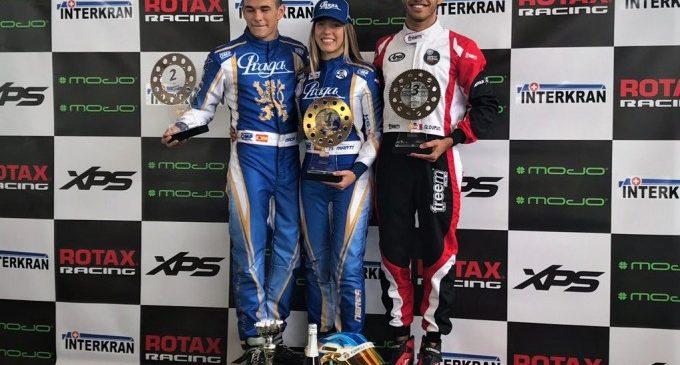 La pilot de la Diputació Nerea Martí guanya en les Sèries Rotax de karting i lidera el campionat